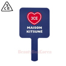 3CE Square Mini Hand Mirror 1ea [Maison Kitsune Edition]